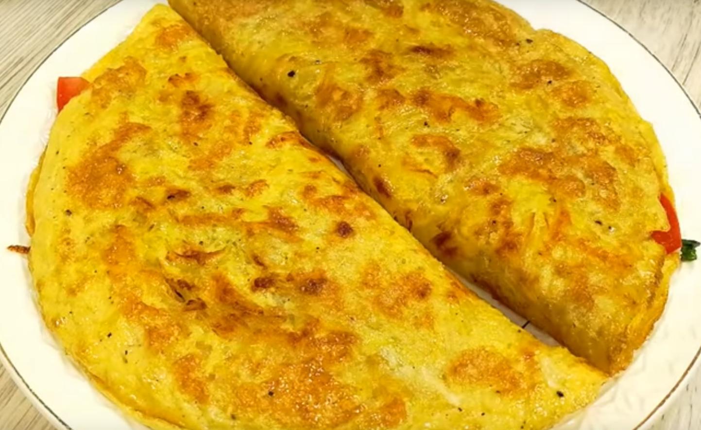 Минутный завтрак из яиц