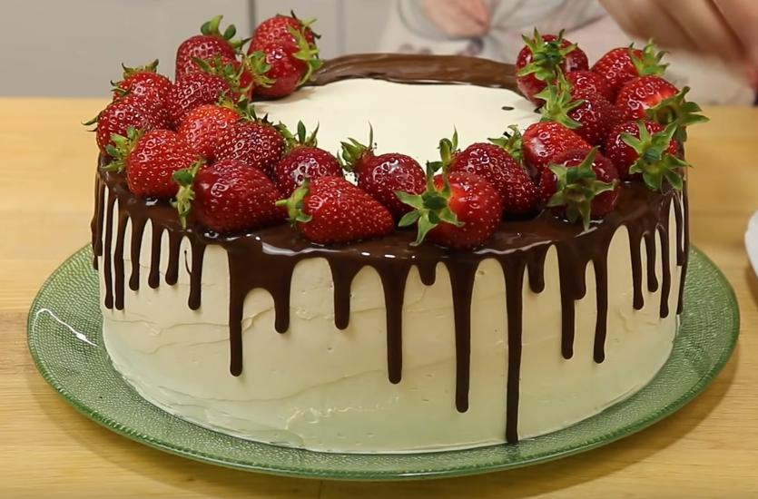 Сливочный торт со вкусом мороженого
