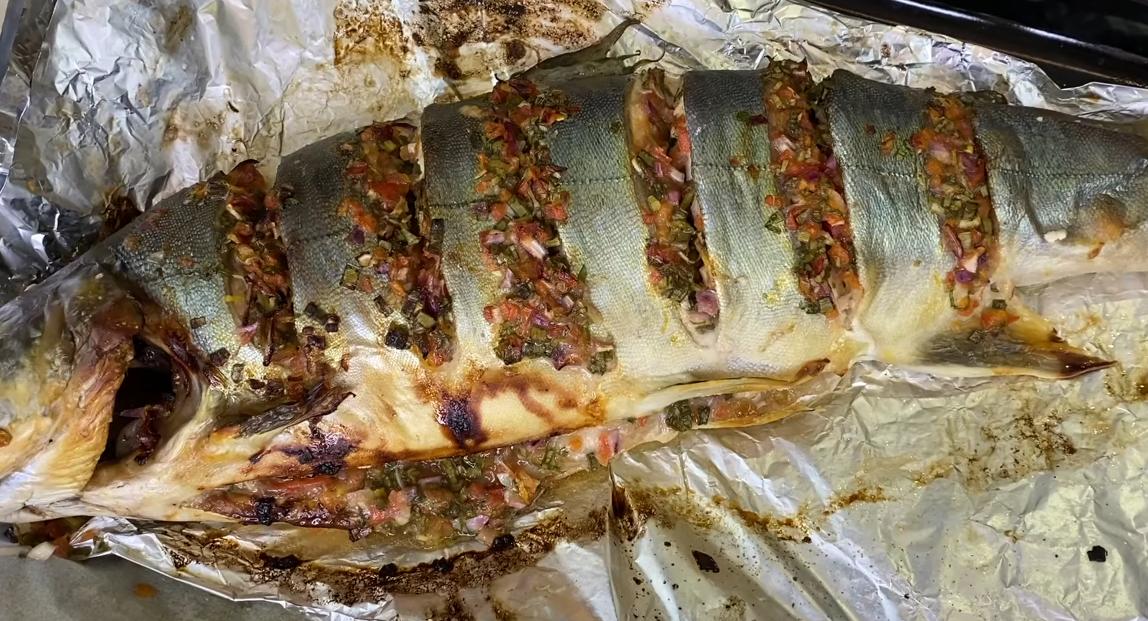 Вкуснейшая рыбка в духовке