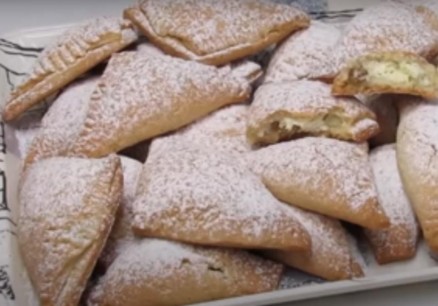 Ароматное печенье с творогом