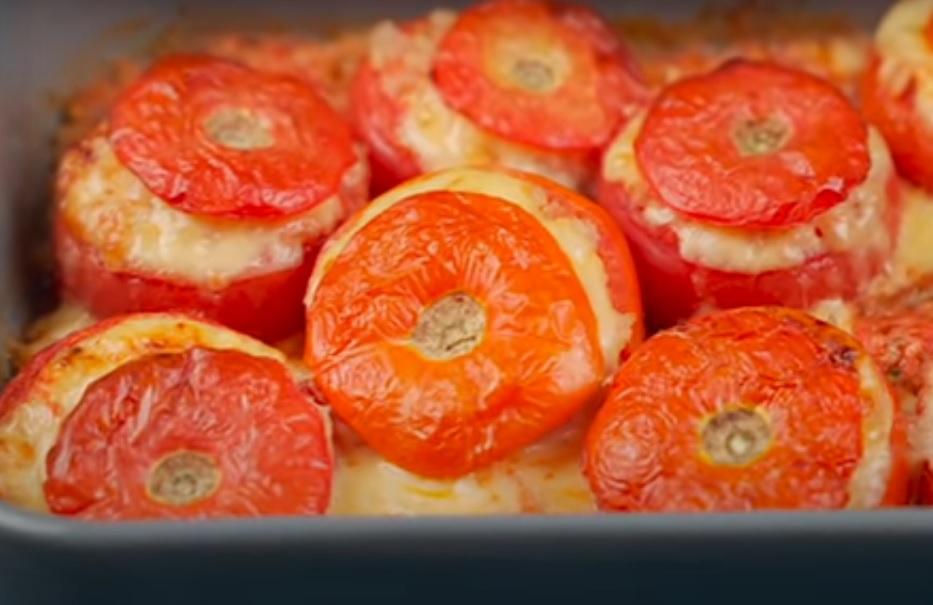 4 рецепта с помидорами с помидорами