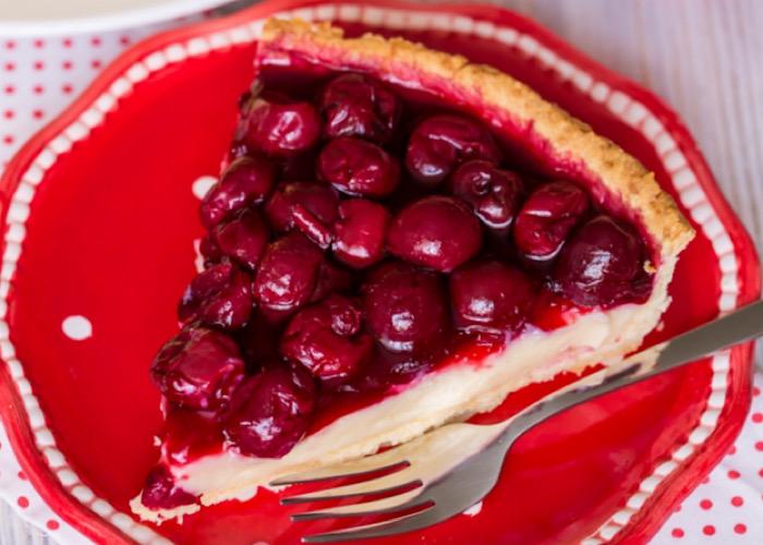 Вкуснейший вишневый тарт с заварным кремом