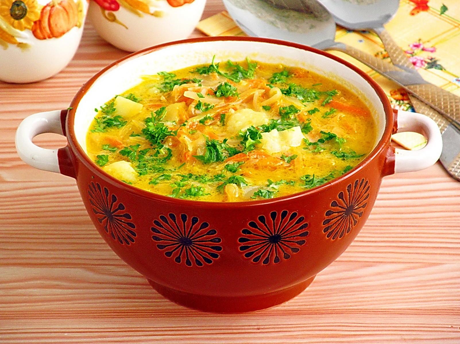 Превосходный суп из квашной капусты