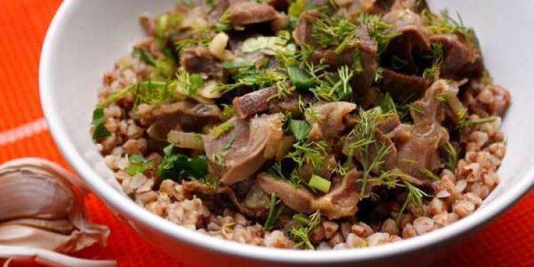 Аппетитное блюдо из желудков индейки