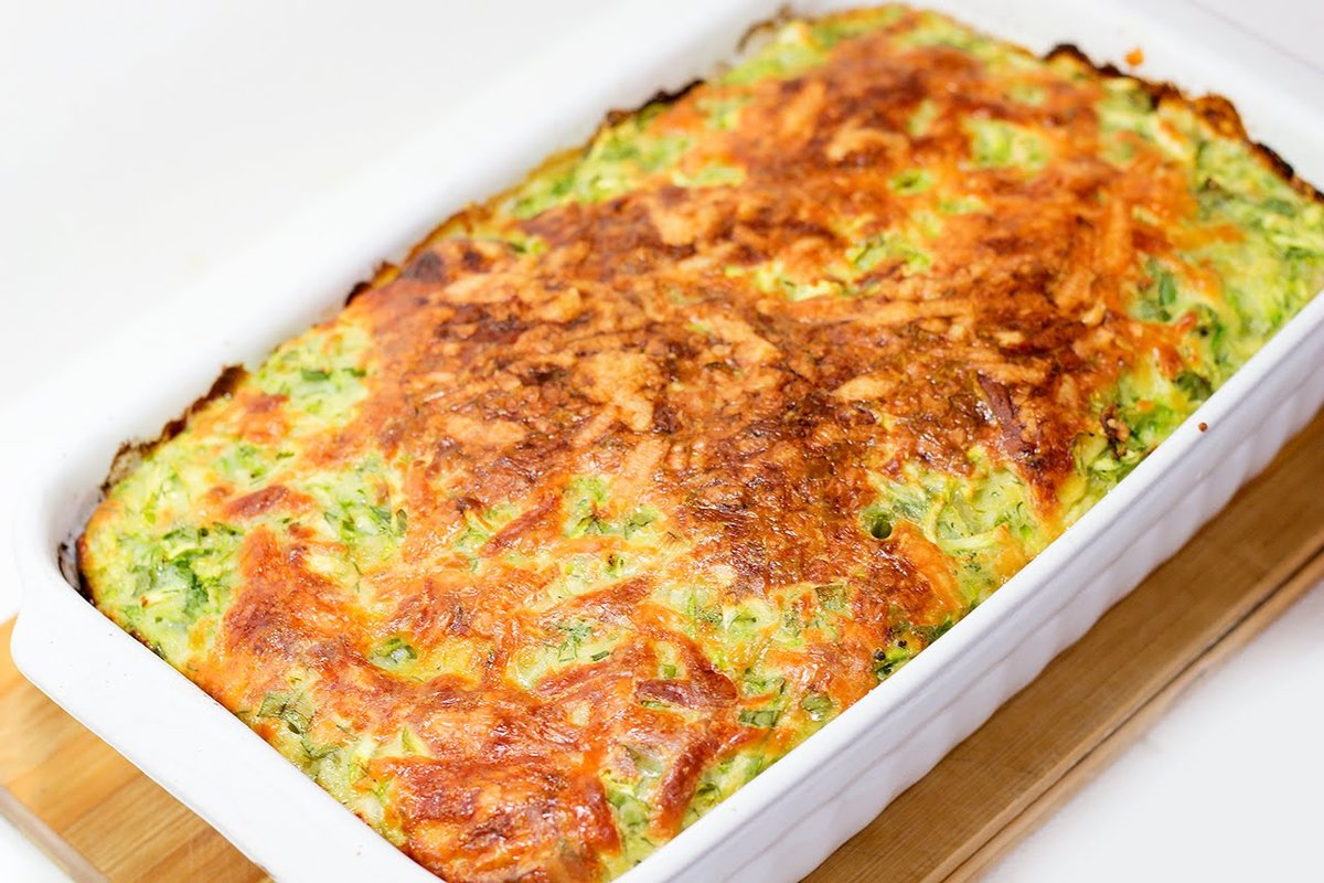 Запеканка из кабачков - вкусно и без мяса