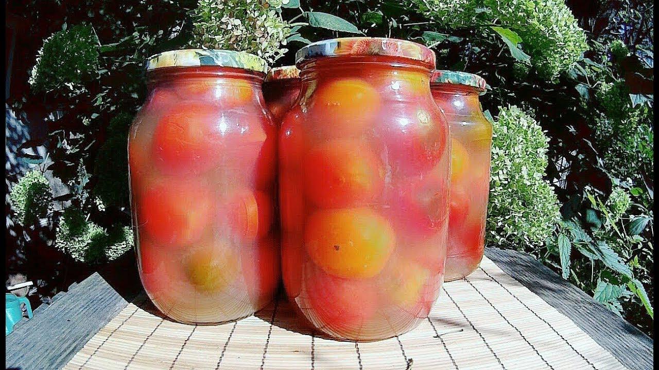 Вкуснейшие помидоры в яблочном соке