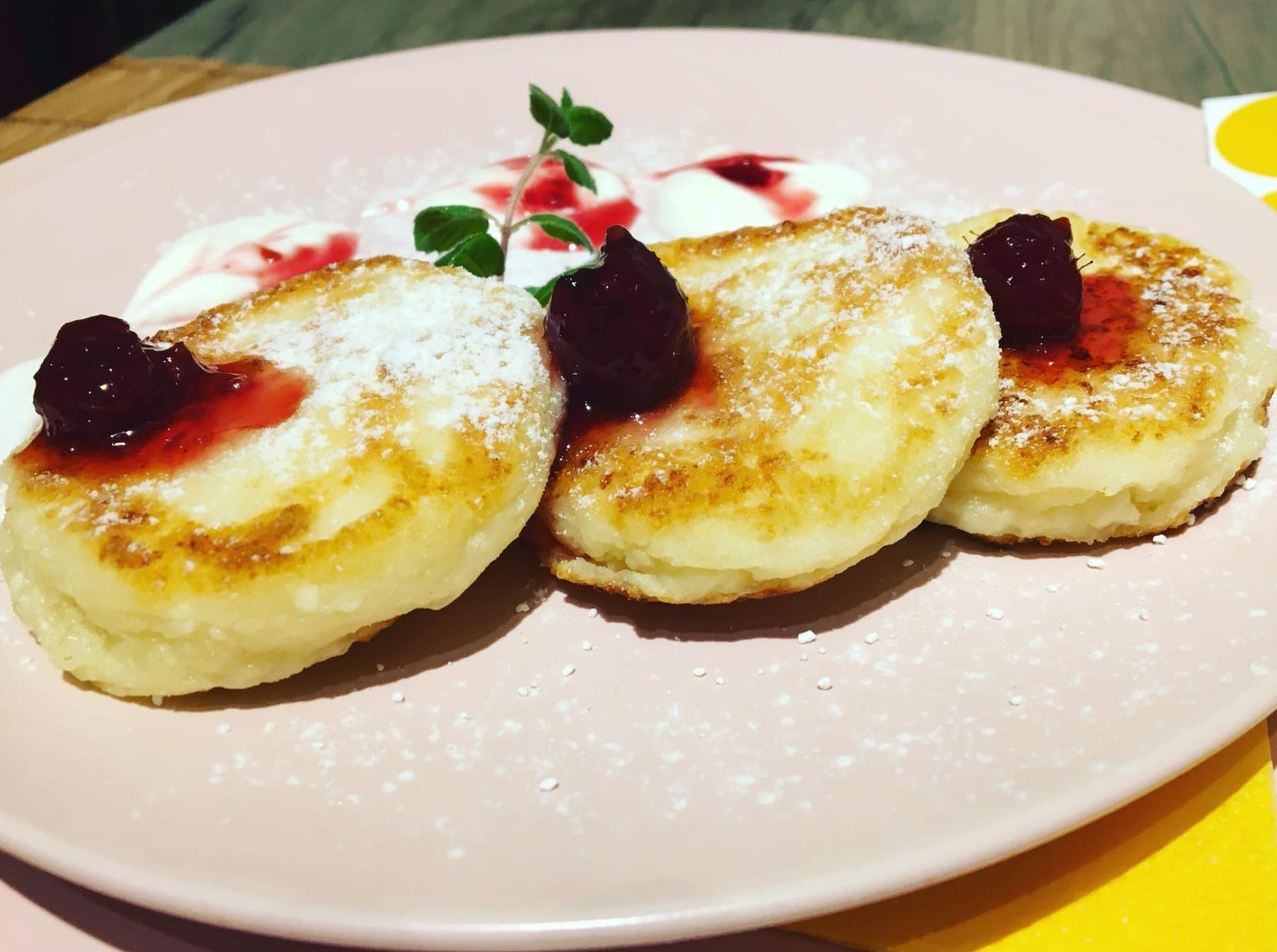 сырники без муки и соды