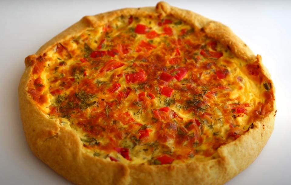 Галета с болгарским перцем и сыром