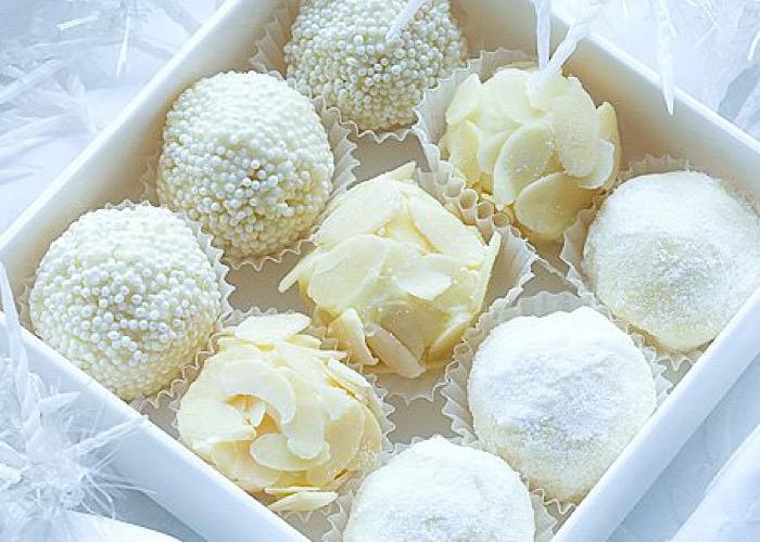 Вкуснейшие домашние конфеты из белого шоколада